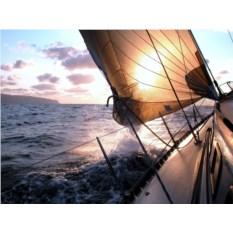 Прогулка парусной на яхте для 2-4 человек (2 часа)