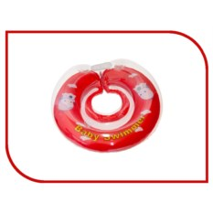 Надувной круг Baby Swimmer Клубничка