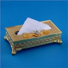 Коробочка для салфеток с цветком