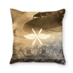 Подушка с 3D принтом Авиация