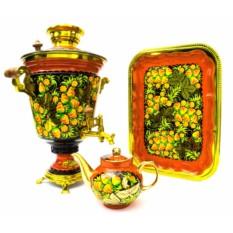 Дровяной самовар Земляничный чай