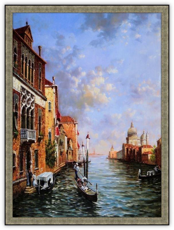 Картина (репродукция) Венеция V - Джованни Алигьери