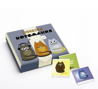 Шоколадный мини-набор Котомания