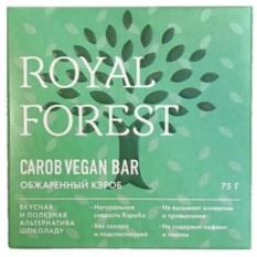 Шоколад из обжаренного кэроба Carob Vegan Bar