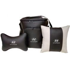 Набор из термосумки, подушки-подголовника и подушки Hyundai