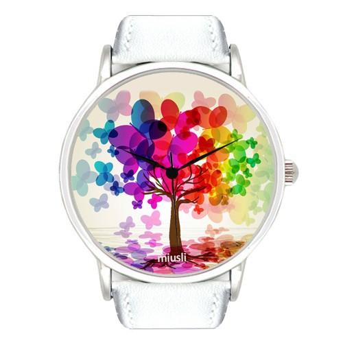 Наручные часы Miusli white Butterfly