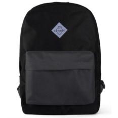 Городской рюкзак Сердце, цвет – черный с серым