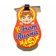 Бирка для чемодана From Russia