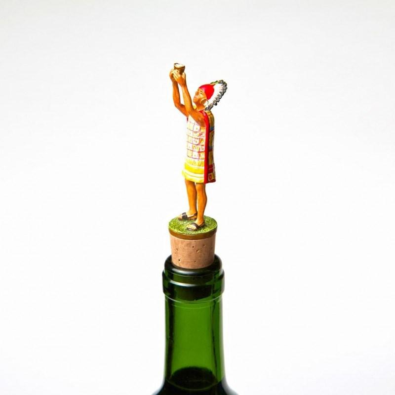 Пробка для бутылки с фигуркой Атауальпа