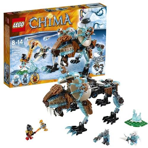 Конструктор Lego Legends of ChimaСаблезубый шагающий робот