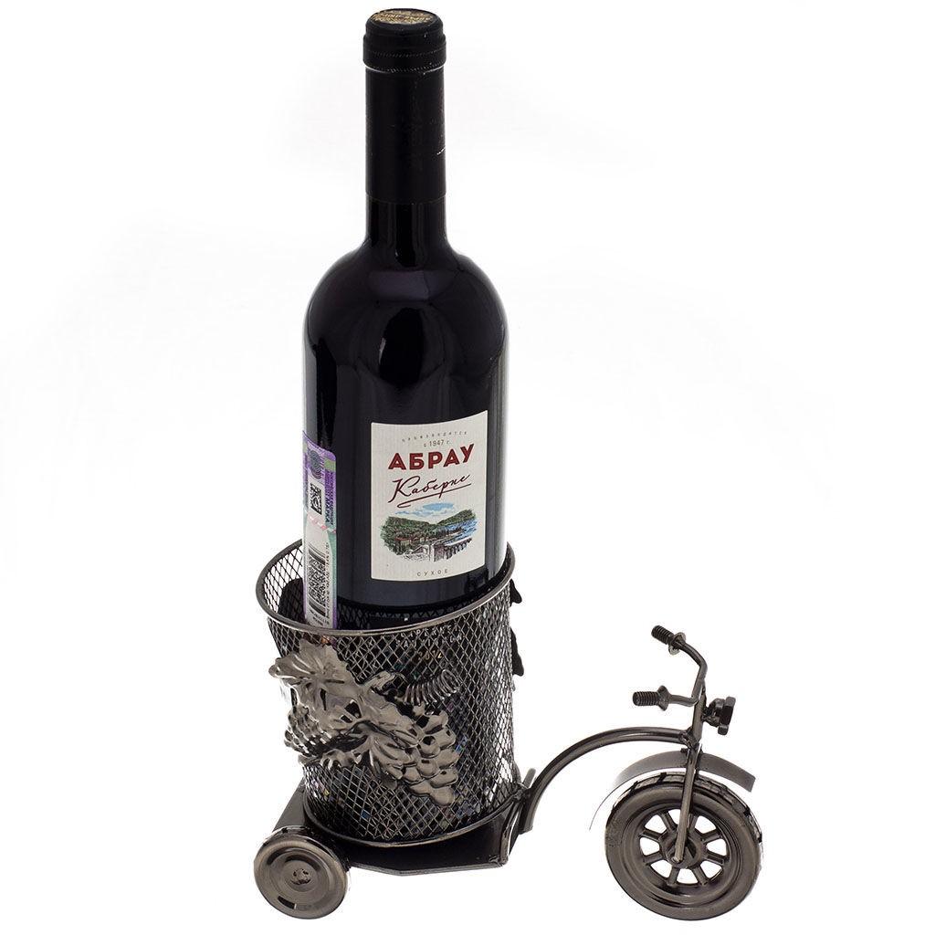 Декор бутылки Велосипед