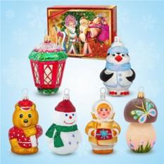 Набор ёлочных игрушек №4