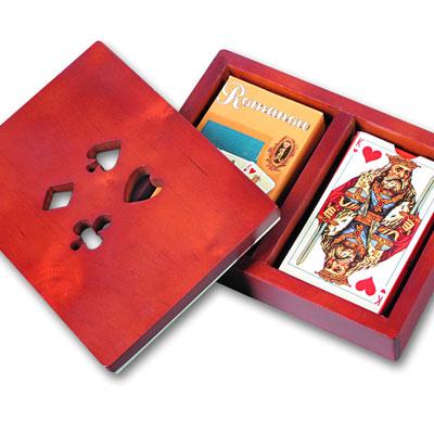 Коробка с 2-мя колодами карт