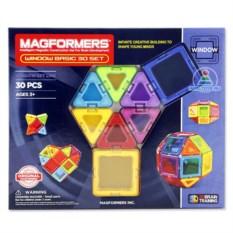 Детский магнитный конструктор Magformers Window Basic Set