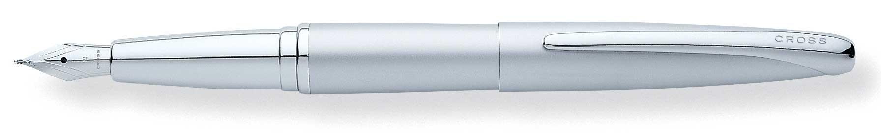 Перьевая ручка Сross ATX Matte Chrome F