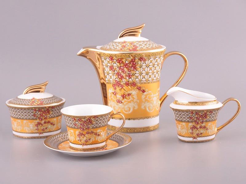 Чайный сервиз на 6 персон 15 пр.200/1000 мл.