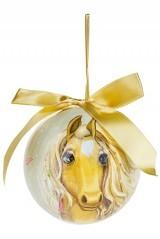 Елочный шар Волшебная лошадь