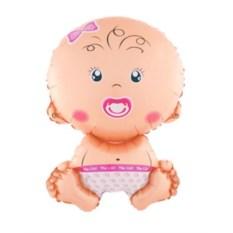 Воздушный шар Малыш-девочка