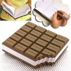 Блокнот Плитка шоколада