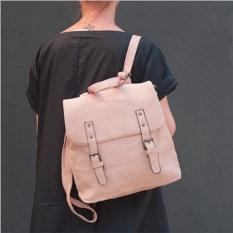Розовый рюкзак-трансформер Ремешки