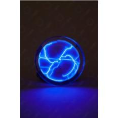 Синий электрический плазменный диск