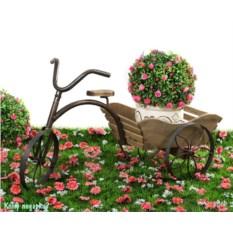 Велосипед-плантатор, 70х30х39 см