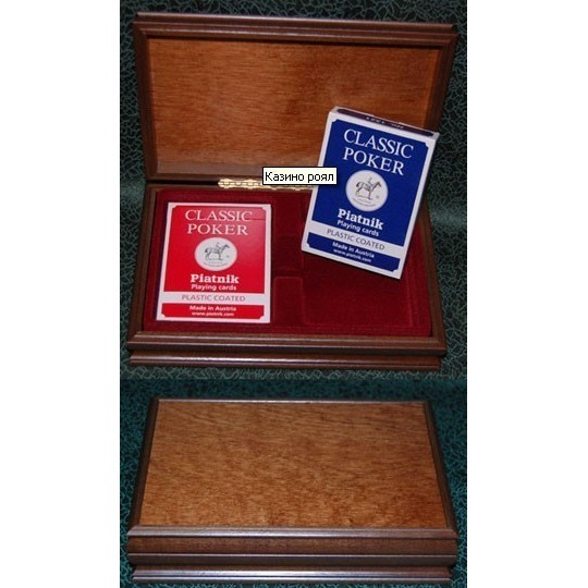 Карточный набор Казино Роял