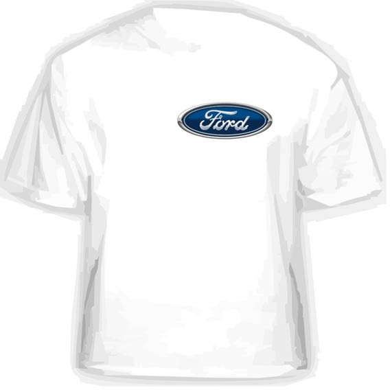 Прикольная футболка FORD