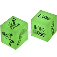Светящиеся эротические кубики