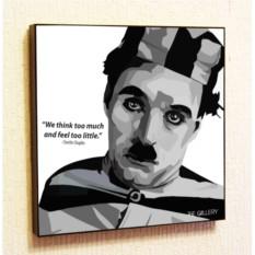 Картина в стиле поп-арт Чарли Чаплин