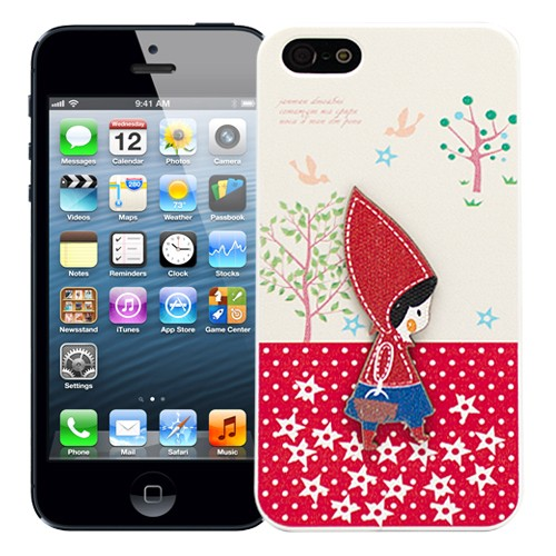Чехол для iPhone 5/5S Little Red Riding Hood