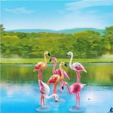 Конструктор Playmobil City Life Zoo Стая Фламинго