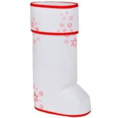 Новогодняя подарочная упаковка с крышкой Валенок