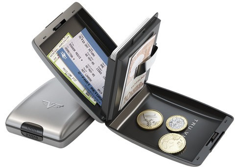 Серебристый кошелек Tru Virtu OYSTER