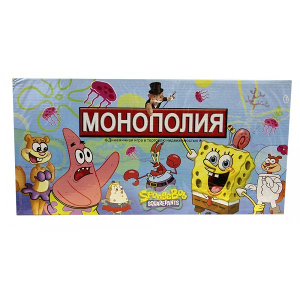 Игра Монополия SpongeBob Squarepants