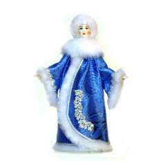 Сувенир Снегурочка в синей шубе