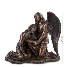 Статуэтка Иисус и Ангел ,высота 21 см