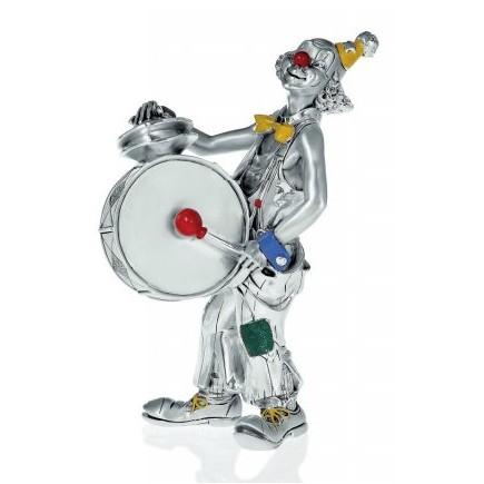 Статуэтка Клоун с барабаном