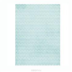 Рисовая бумага для декупажа Craft Premier Голубой зиг-заг