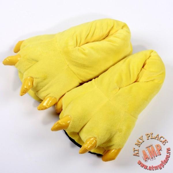 Желтые тапки