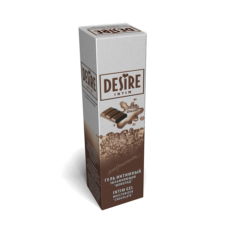 Ароматизированный любрикант Desire intim -Шоколад