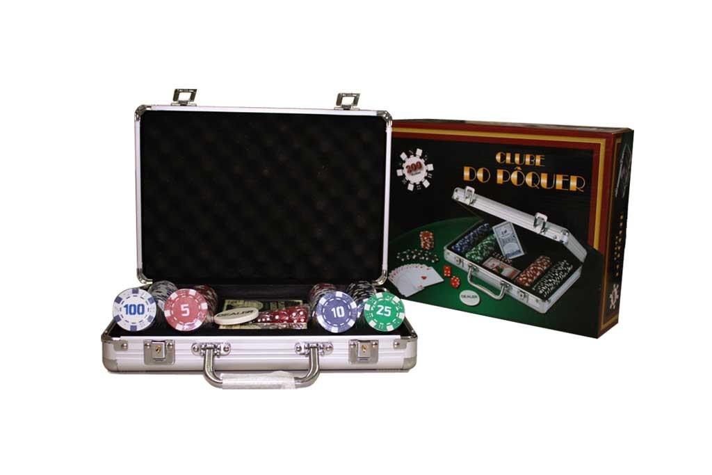 Набор для игры в покер WKL-20050 (200 фишек)