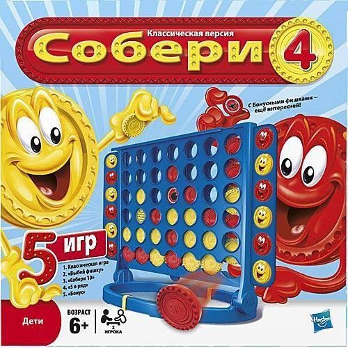 Игра настольная Собери 4
