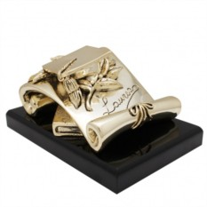Скульптура Лауреат с позолотой