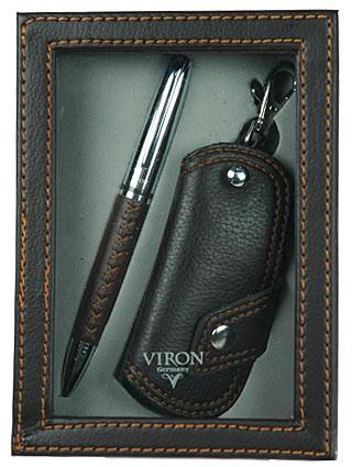 Подарочный набор VIRON: ключница и ручка