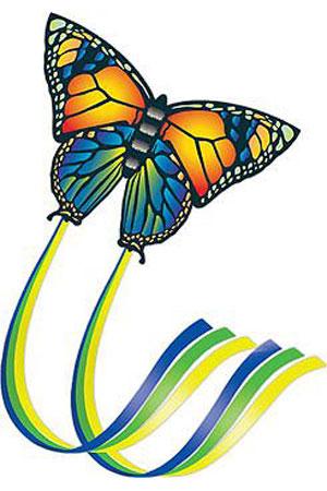 Воздушный змей из нейлона Butterfly