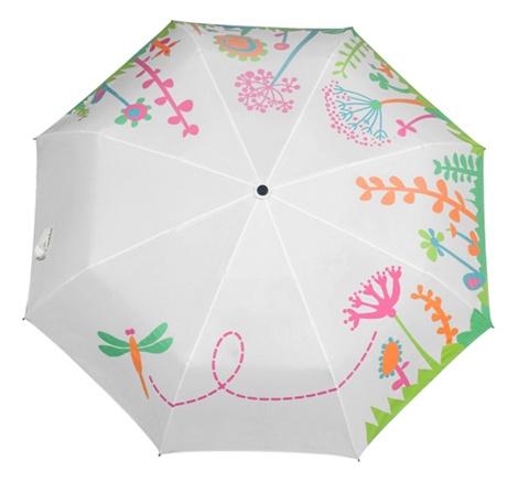 Зонт-раскраска Flowers, белый