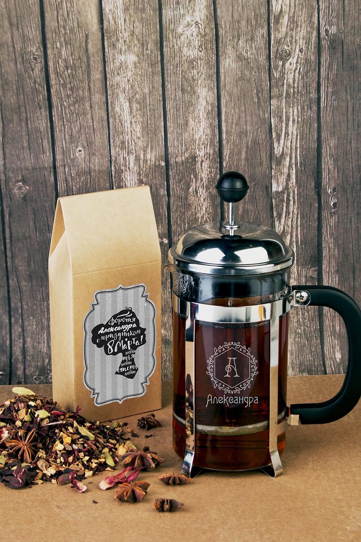 Подарочный набор для чая с Вашим текстом Незнакомка