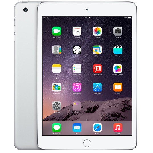 Apple iPad mini 3 128gb Wi-Fi + Cellular (Silver)