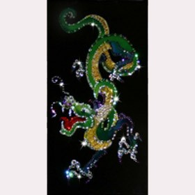 Картина Swarovski Дракон
